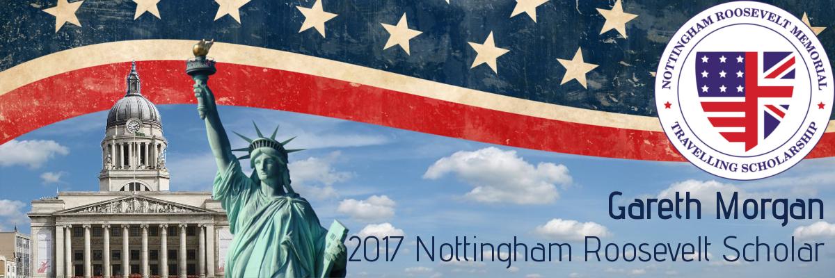 Gareth's Nottingham Roosevelt Travelling Scholarship 2017