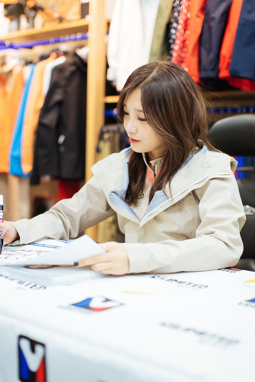 Apink Eunji fansigning