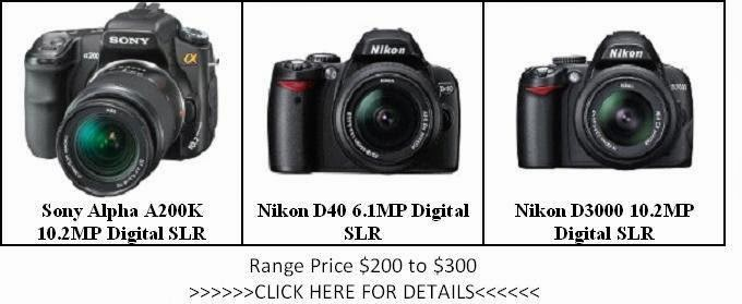 The List of Camera Price $200 to $300