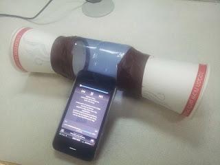 Tự làm loa iPhone đơn giản
