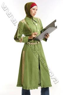Model Pakaian Kerja Wanita Muslimah