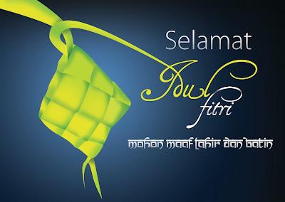 Kartu Ucapan Selamat Idul Fitri 1434 H 2013
