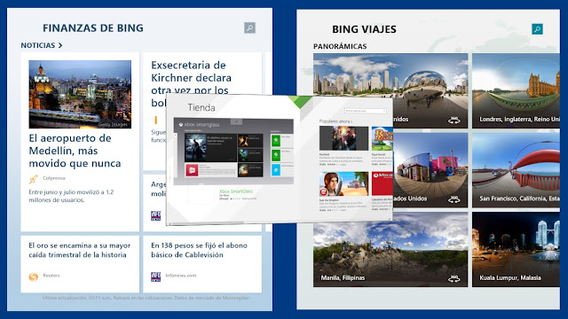 Varias Aplicaciones Windows 8.1 Preview