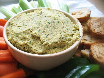 Spicy Hummus, Indian-Style