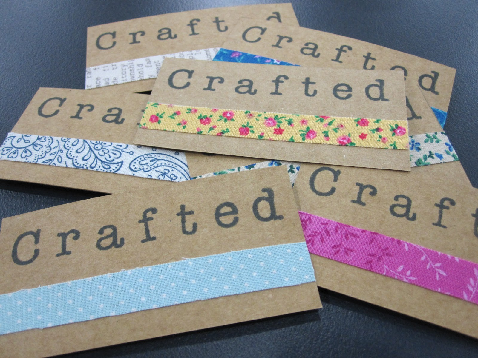 How to: handmade business cards - Crafted