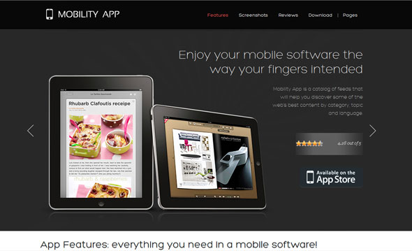 15 Practical And Elegant Wordpress Themes For iPad