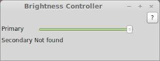 ajustar el brillo de la pantalla en Linux