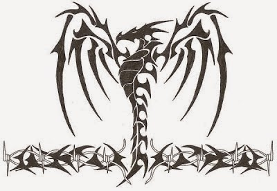 Tribal Dragon Tattoo Designs 02