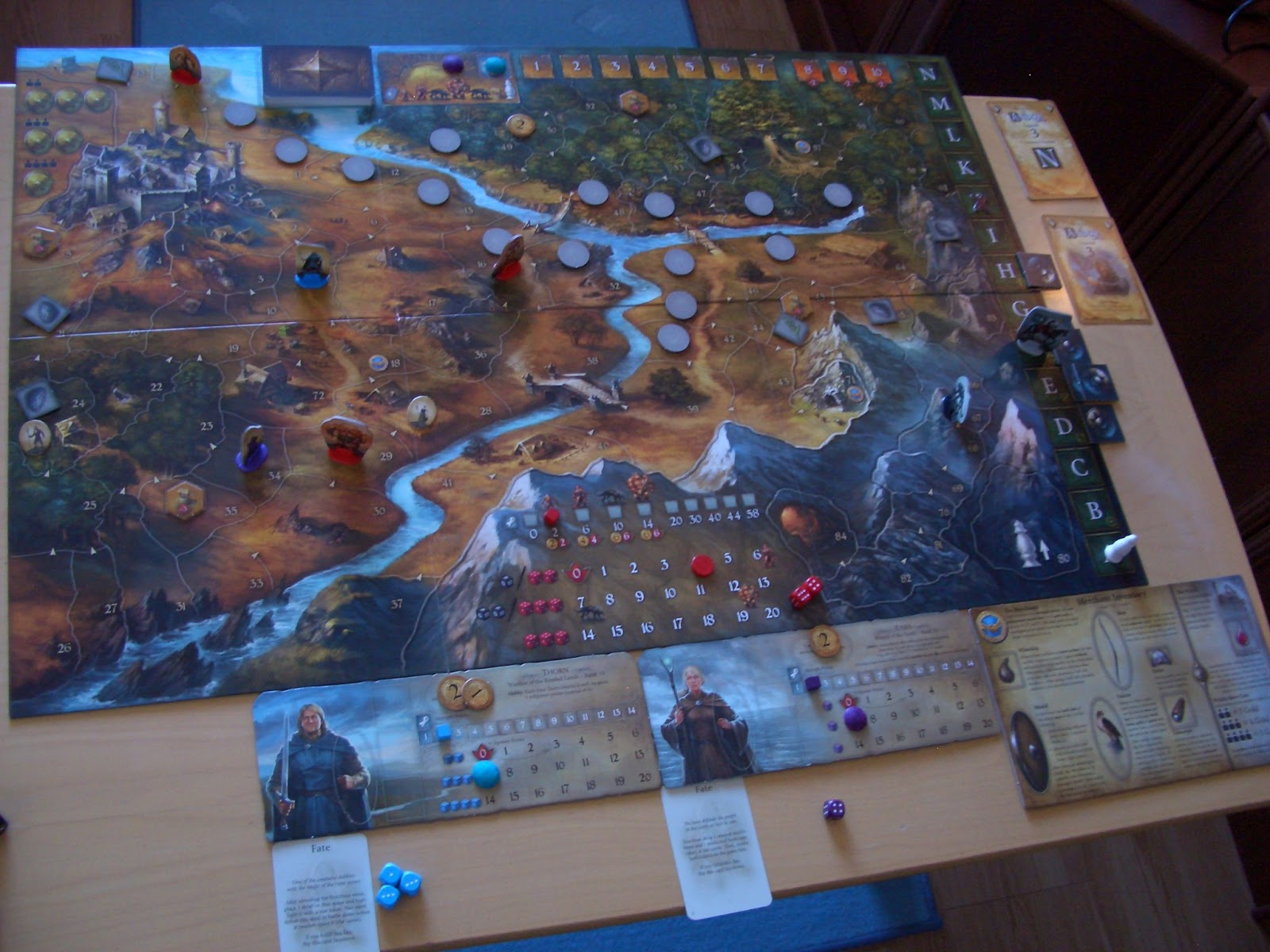 Board games for one march 2013 legends of andor takes place in a fantasy world called andor the game board is a beautifully illustrated map of andor and its most important location is gumiabroncs Images