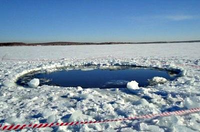 meteorito lago Chebarkul