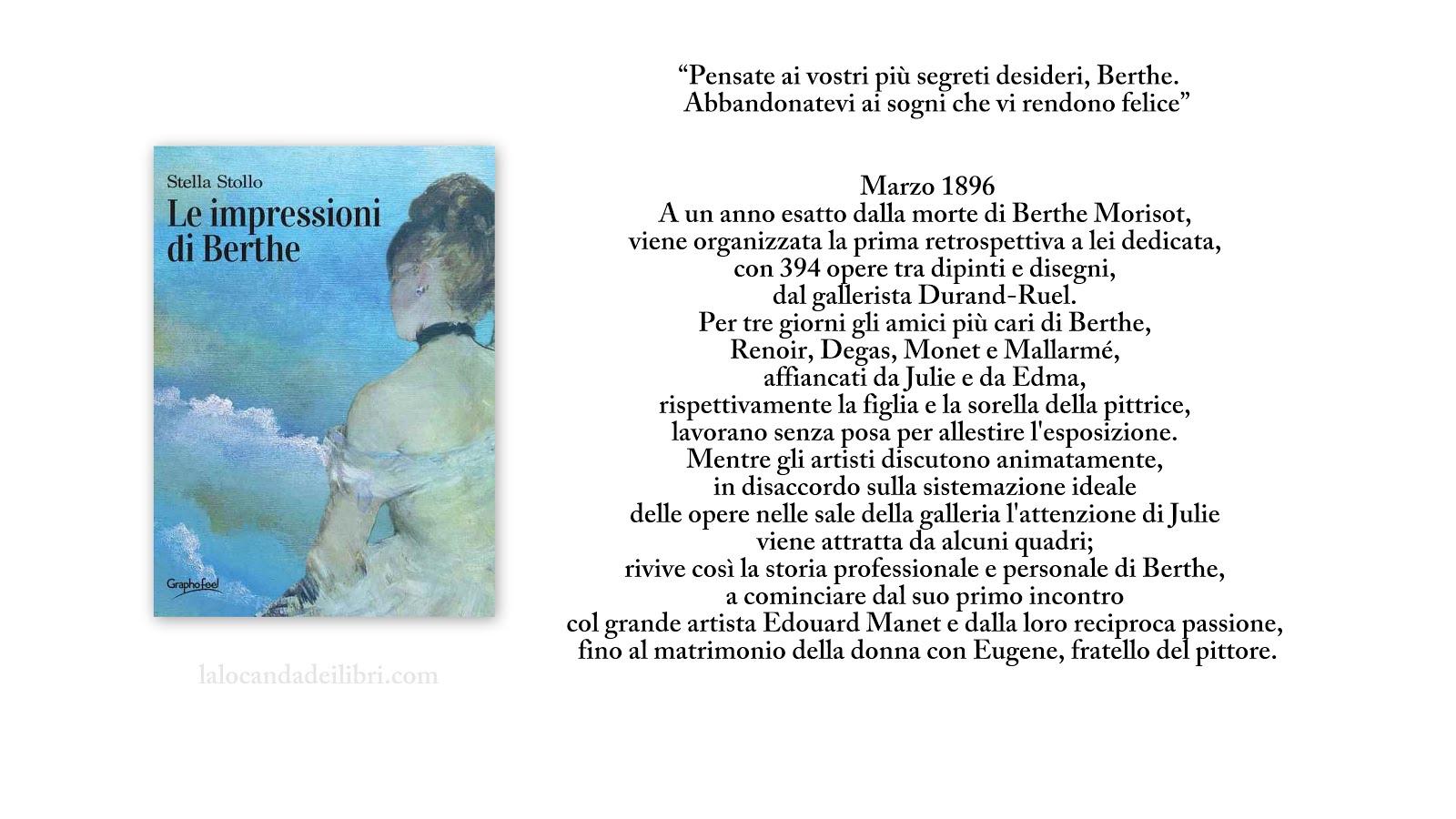 """""""Le Impressioni di Berthe"""" di Stella Stollo"""