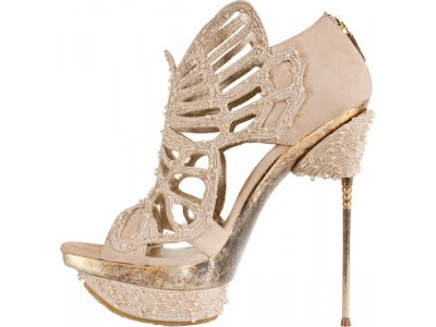 spike heels, nude shoes