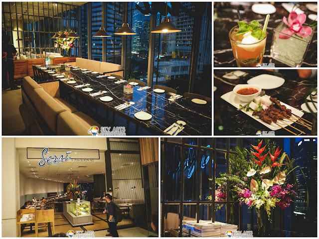 Dinner location - Serai @ Pavilion KL