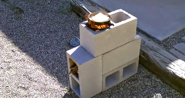 20 creative uses of concrete blocks in your home and for 4 block rocket stove
