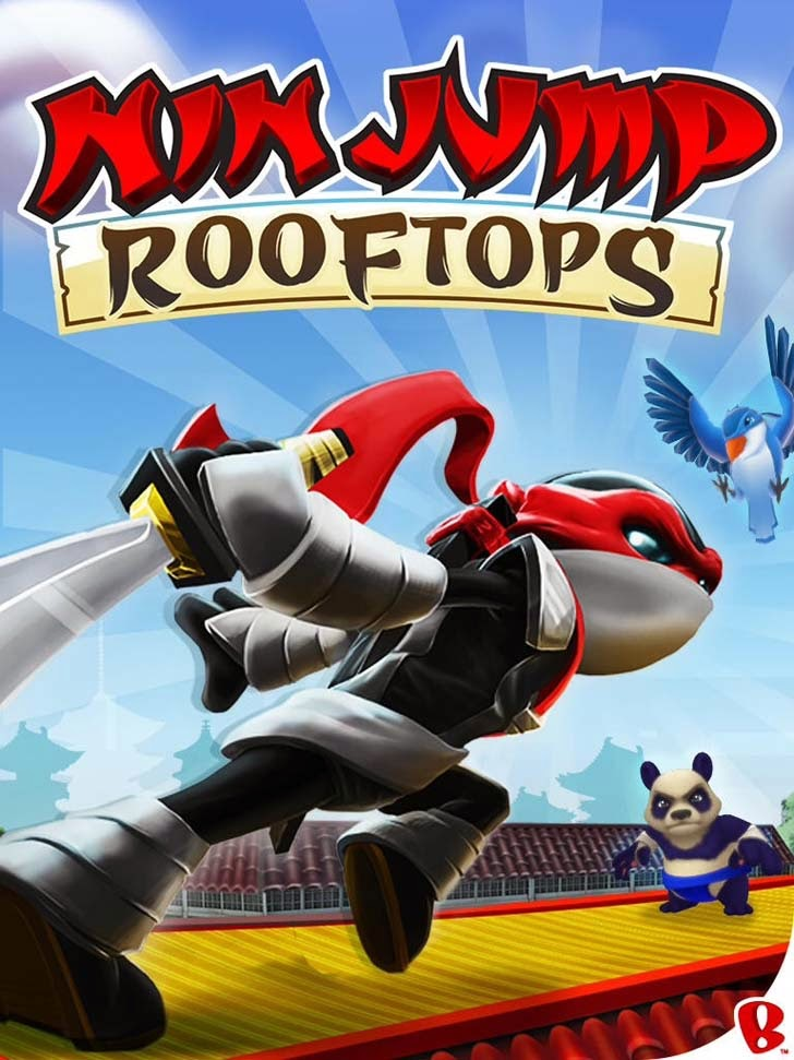NinJump Rooftops App iTunes App By Backflip Studios - FreeApps.ws