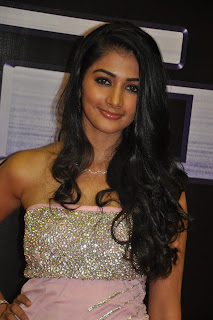 Pooja Hegde spotted at Mugamoodi Launch Spicy Looking Pooja Hegde