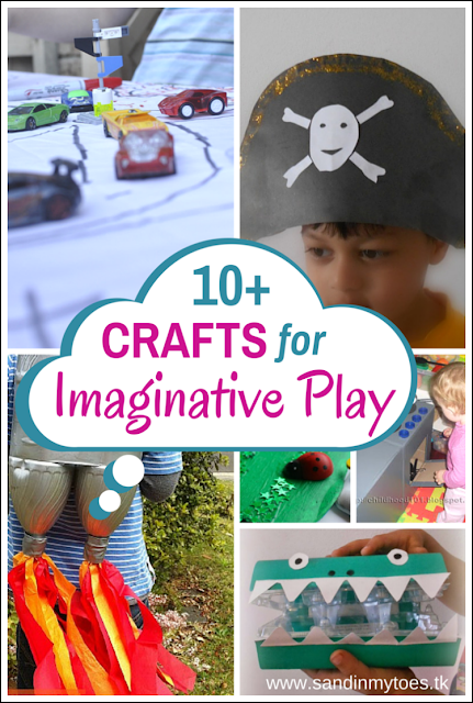 Ten craft ideas to encourage imaginative play in your child,
