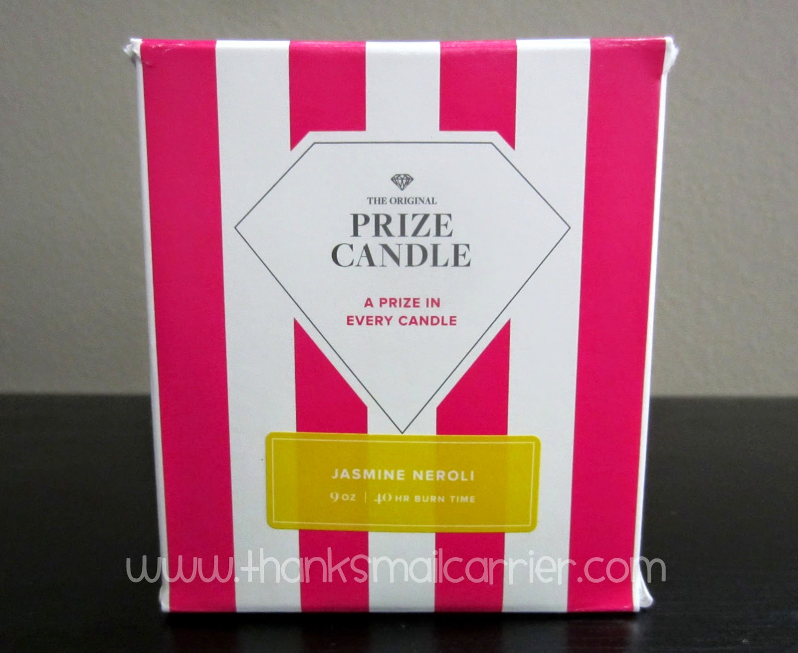 Prize Candle box
