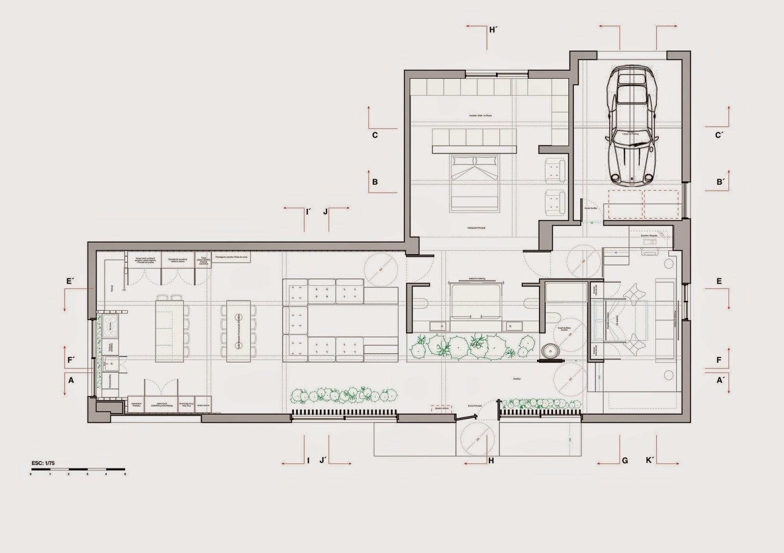 El plan z arquitectura septiembre 2014 for Planos de locales