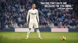 Soccer Quotes real Madrid Cristiano