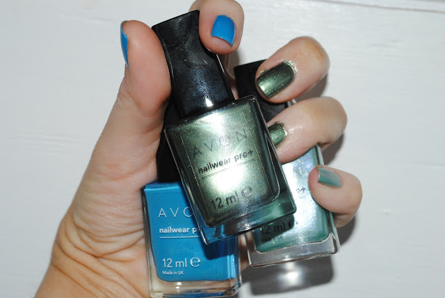 Avon Arctic Goddess Nail Collection -  Arctic Waters, Green Goddess and Chilling Teal