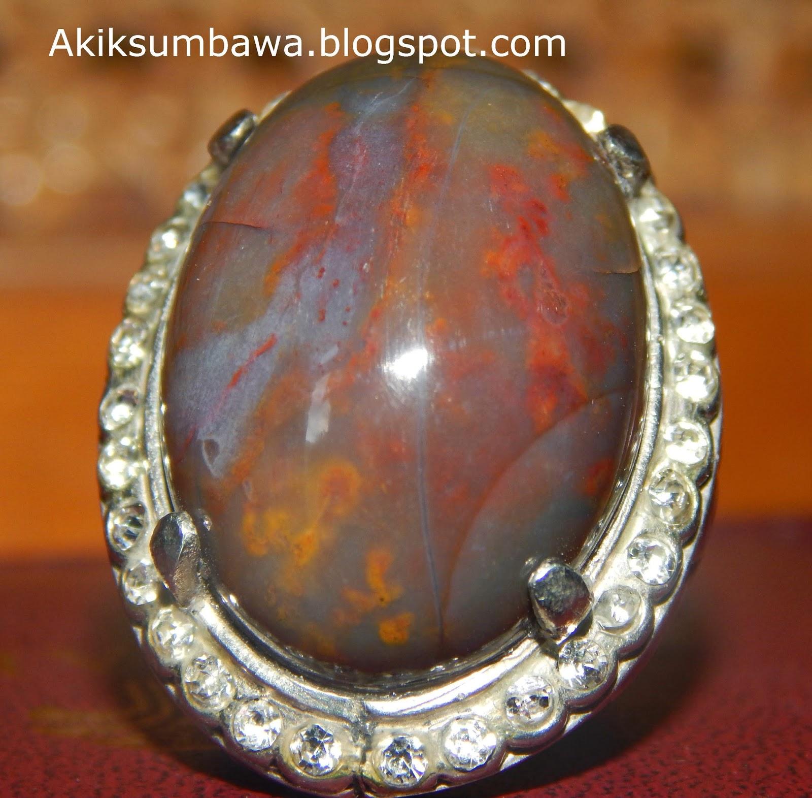 Batu Akik Panca Warna Sumbawa