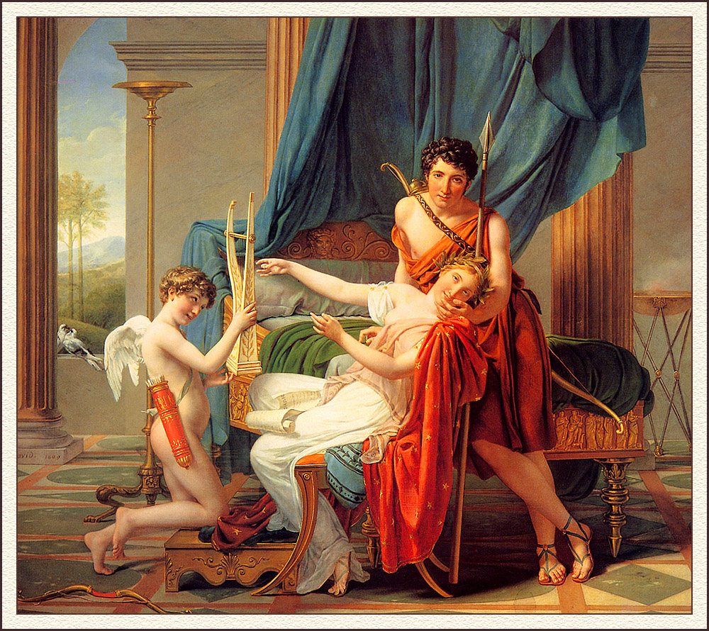 jacques-louis david sappho