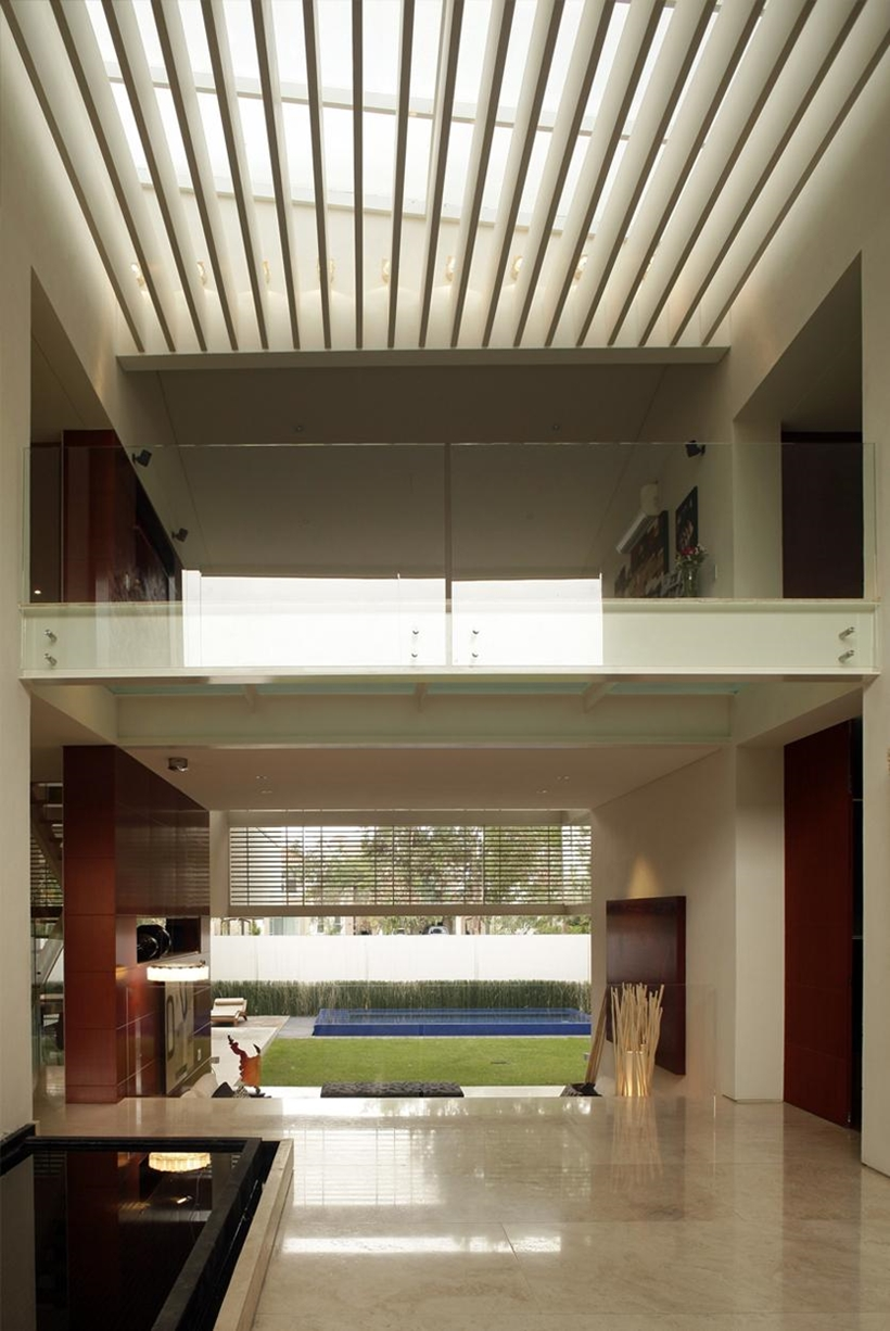 Interior of Godoy House by Hernandez Silva Arquitectos in Mexico
