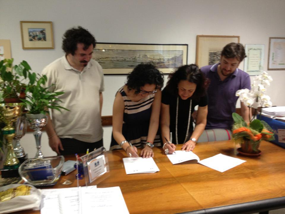 08.06.2012 - Firma protocollo sui Diritti Umani