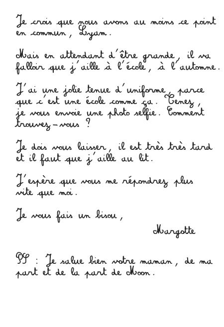 [PS épistolaire] Margotte à Lyam - 9 août 2014, p.4 - Page 4 Lettre+3