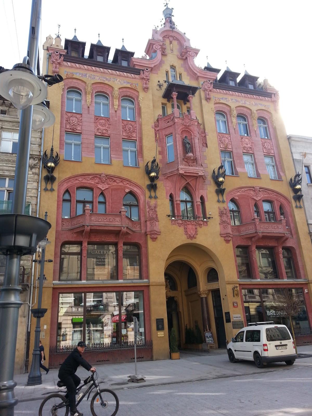 Piotrkowska, Lodz, Poland, tenement house,