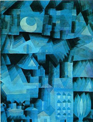Paul Klee notte in città di sogno