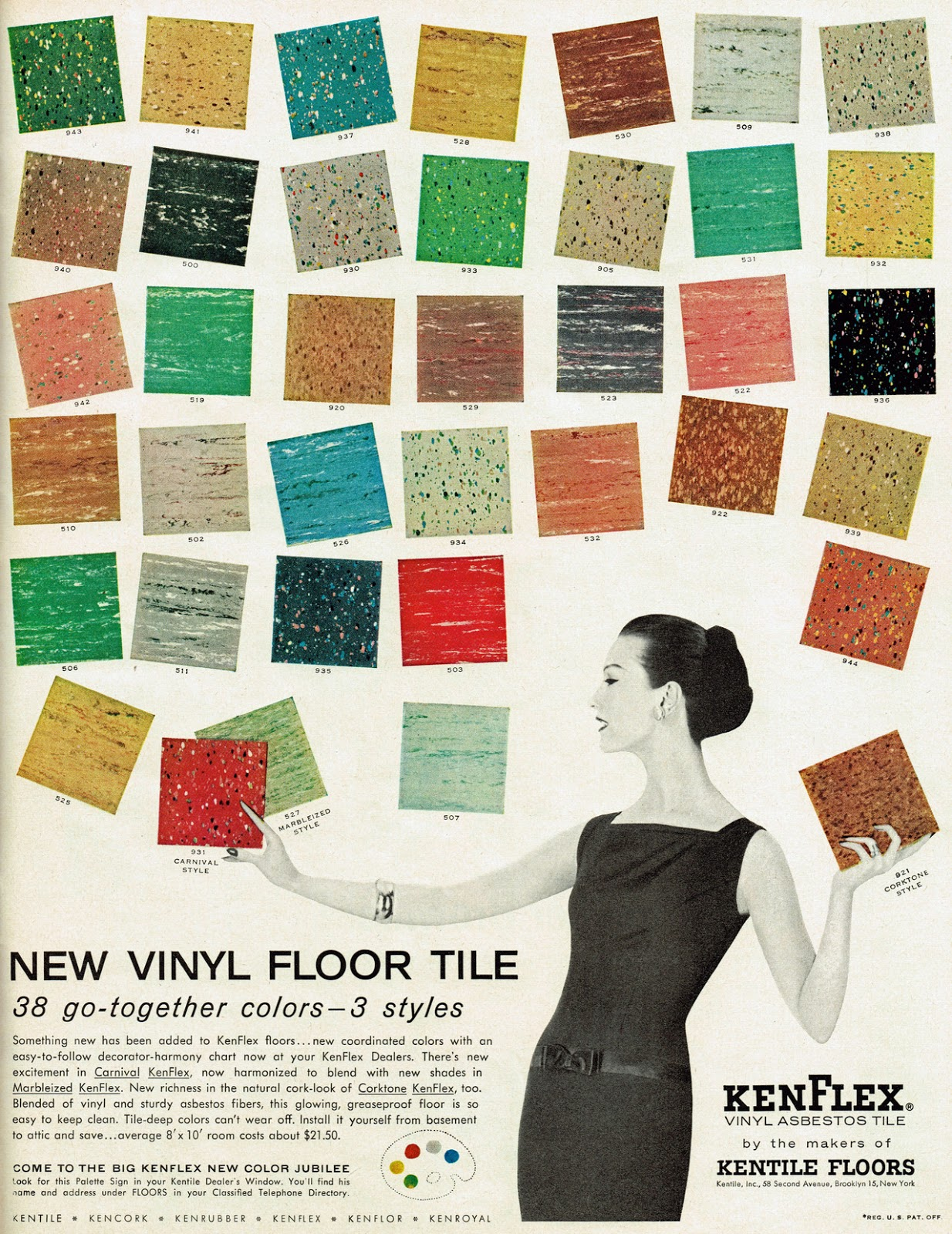 9x9 Floor Tile Asbestos Librarian Tells All December
