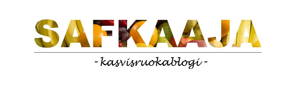 safkaaja - kasvisruokablogi