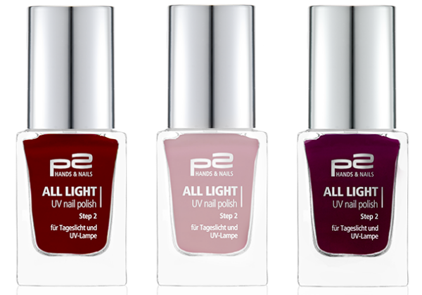 p2 all light uv nail polish