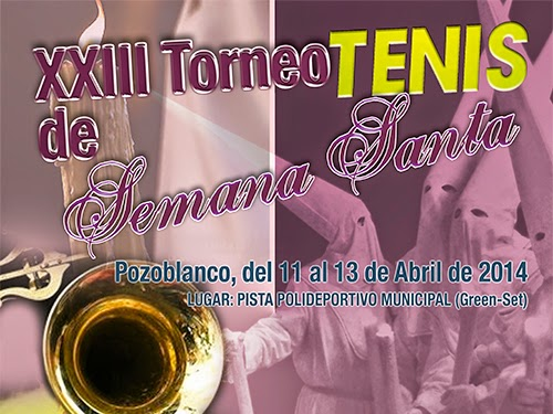 torneo de tenis de Semana Santa de Pozoblanco