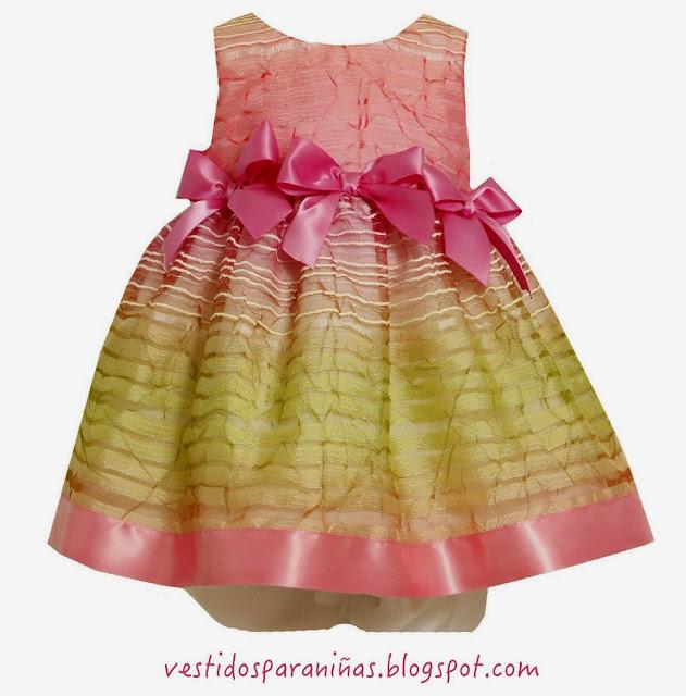Vestidos para niñas de verano sin manga para fiestas infantiles o salir a la calle de paseo - Vestidos para niñas de 1 a 5 años