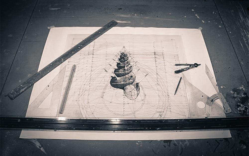 03-Drawn-on-Paper-Artist-Rafael-Calculation-Mathematics-and-Art-CAD-www-designstack-co