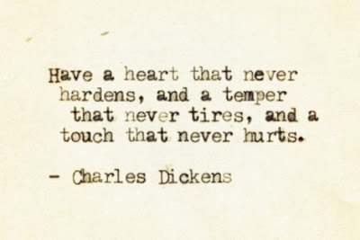 Charles Dickens Quote on Humanity and Sanity