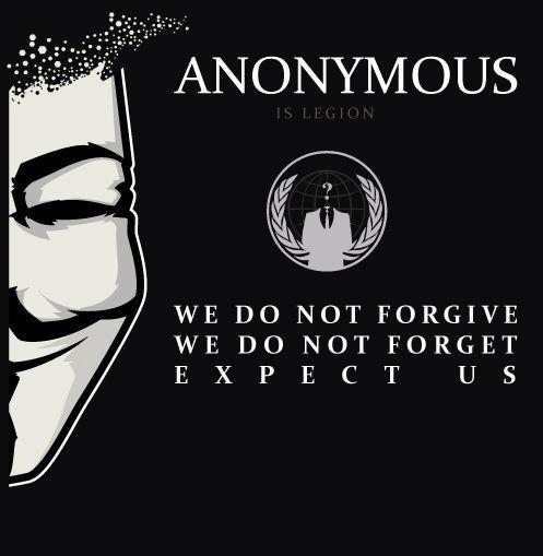 Anonymous We Do Not Forgive