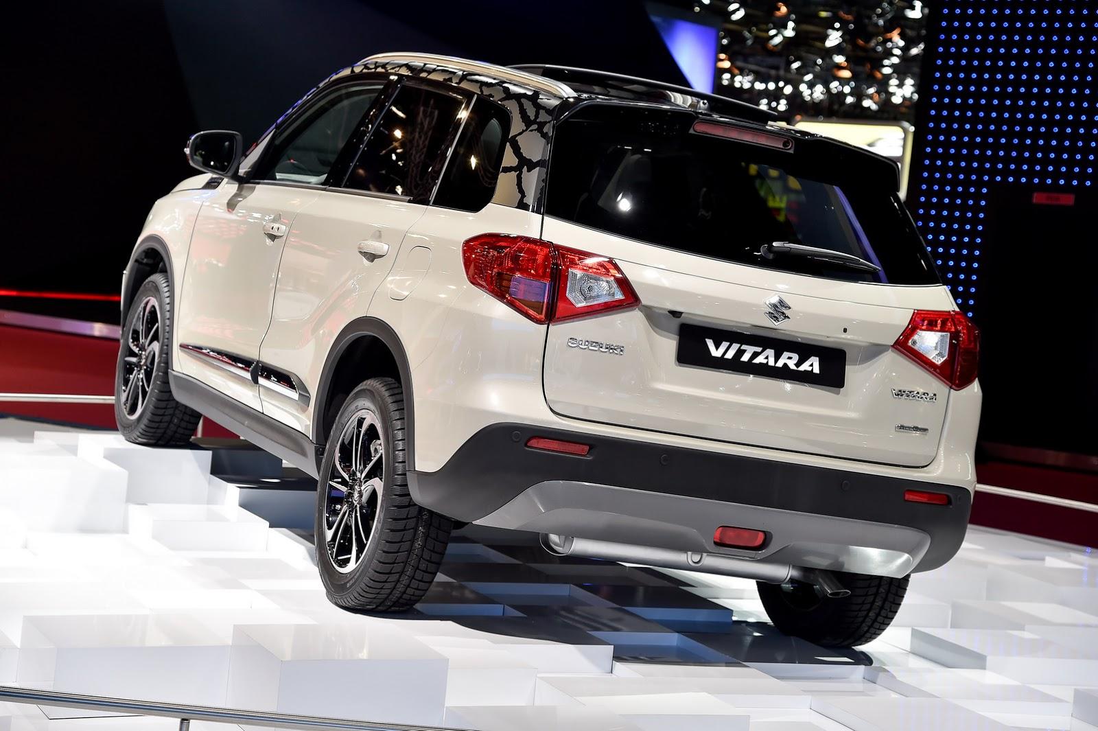 Suzuki's New Vitara SUV Goes Mainstream in Paris | Carscoops