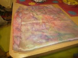 esto es un pañuelo de los q hizo mi madre y hay mas todavia
