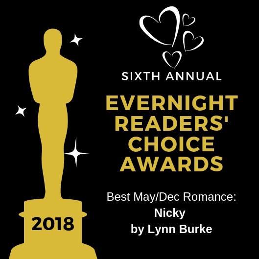 2018 Evernight Reader's Choice WINNER: NICKY, Fallen Gliders 1!!