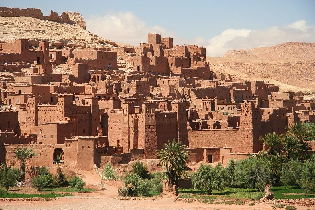 Kasbah fortificata di Ait Benhaddou