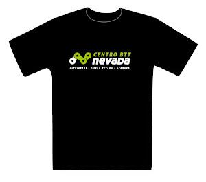 Camiseta oficial del CentroBTT