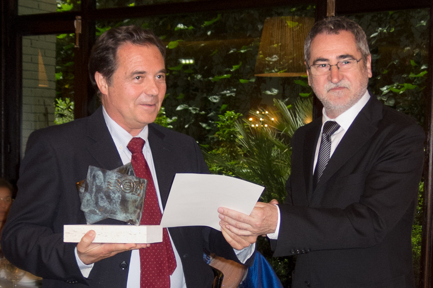 José Antonio Pérez Lastra y Ángel Pérez