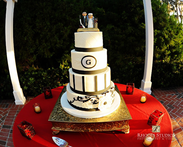 Anna Christine Events Cypress Grove Estate Orlando weddings Orlando Wedding Cakes