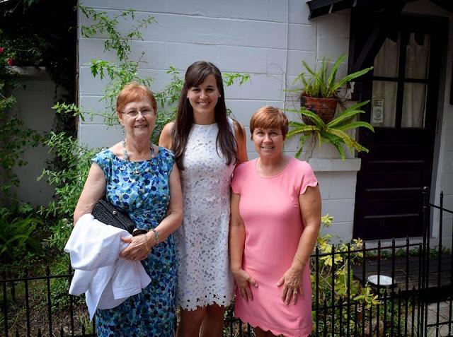 Me, Grandma Barb and Mom