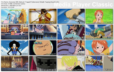 Download Film One Piece Episode 388 (Sebuah Tragedi! Kebenaran Dibalik Topeng Duval!) Bahasa Indonesia