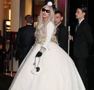 Lady Gaga visits the White House